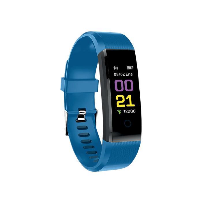 Pulsera de Actividad MUVIT IO HEALTH POP DECATHLON EDITION Azul