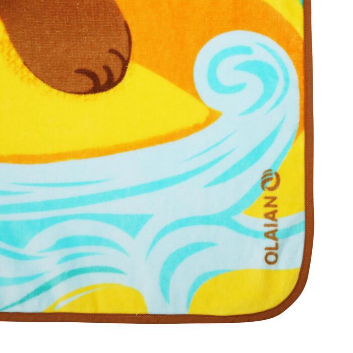 KIDS' SURF PONCHO Seya 110-125cm