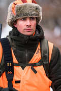 HIGH VIS ACCESSORIES Shooting and Hunting - FLUORESCENT CAMO TRAPPER HAT SOLOGNAC - Hunting and Shooting Clothing