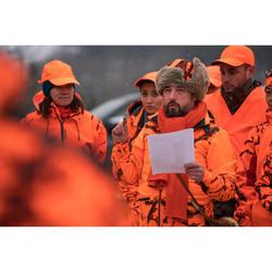 Chapka voor de jacht camouflage oranje