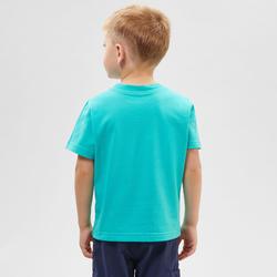 T-shirt de randonnée - MH100 bleu - enfant 2-6 ANS