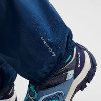 MH100 Waterproof Hiking Top-Layer Pants - Kids