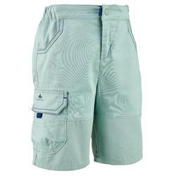 兒童款健行短褲- MH500 -綠色