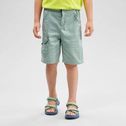Kids' Hiking Shorts - MH500 KID Green