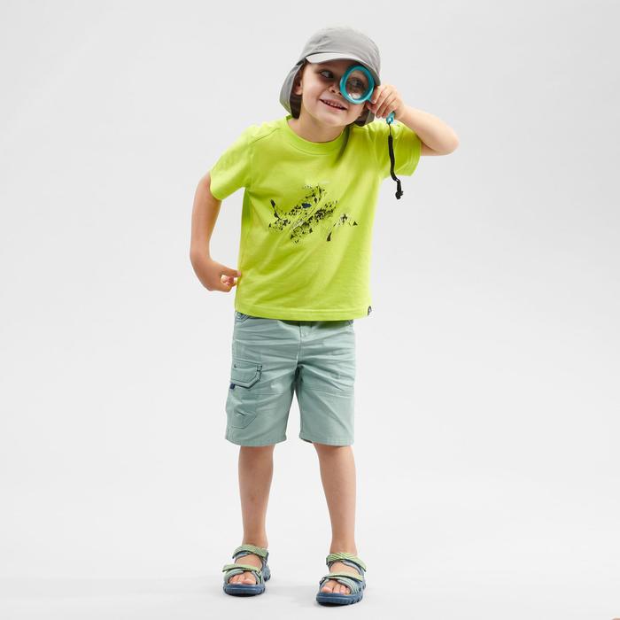 Wandelshort voor kinderen MH500 groen