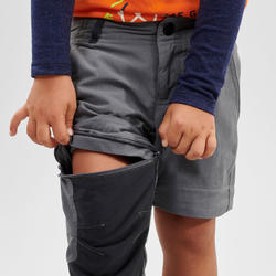 Afritsbroek voor kinderen MH500 grijs