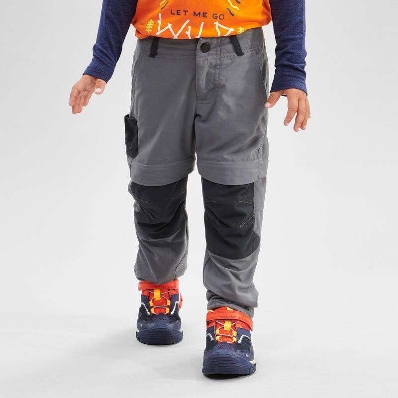 Pantalones Desmontables Niños de Montaña y Trekking Quechua MH550 2 a 6 años
