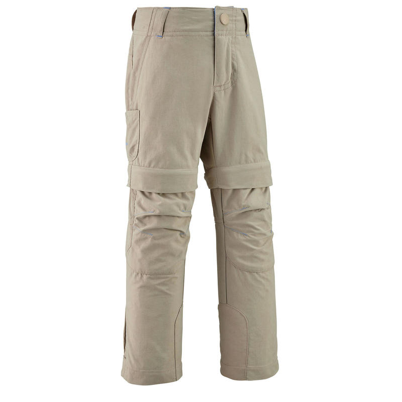 Pantaloni modulabili montagna bambina 2-6 anni MH500 beige