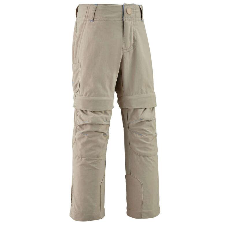 Lány póló, kabát, nadrág, rövidnadrág 2-6 év Túrázás - Gyerek nadrág MH500 QUECHUA - Gyerek túraruházat