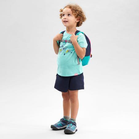 Kids' Hiking Skort - MH100 KID Aged 2-6 - Navy Blue