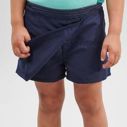 Shortrokje voor wandelen kinderen MH100 marineblauw 2 tot 6 jaar