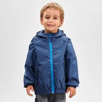 """Ūdensnecaurlaidīga pārgājienu jaka """"MH500"""", 2–6 gadus veciem bērniem, zila"""