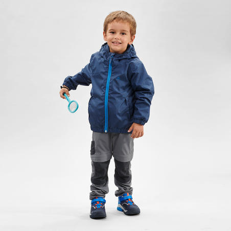 MH500 Waterproof Hiking Jacket - Kids