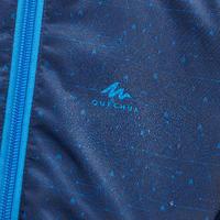 Chaqueta impermeable de senderismo MH500 KID azul infantil