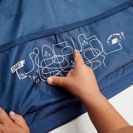 Manteau de randonnée imperméable MH500 – Enfants