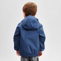 Chamarra impermeable de senderismo - MH500 KID azul - junior