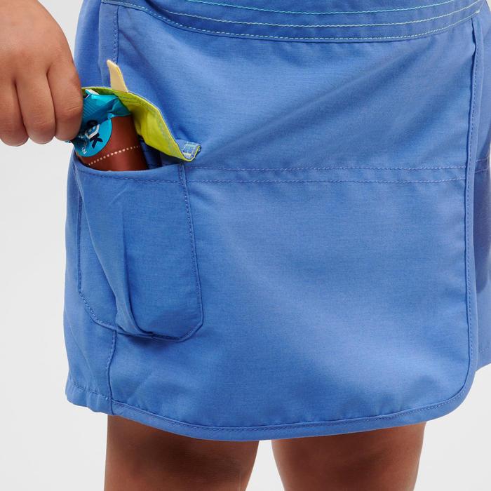 Jupe short de randonnée - MH100 KID bleue -enfant 2-6 ANS