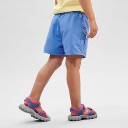 Shortrokje voor wandelen kinderen MH100 blauw 2-6 jaar