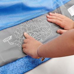 Regenjas voor wandelen kinderen MH500 paars 2-6 jaar