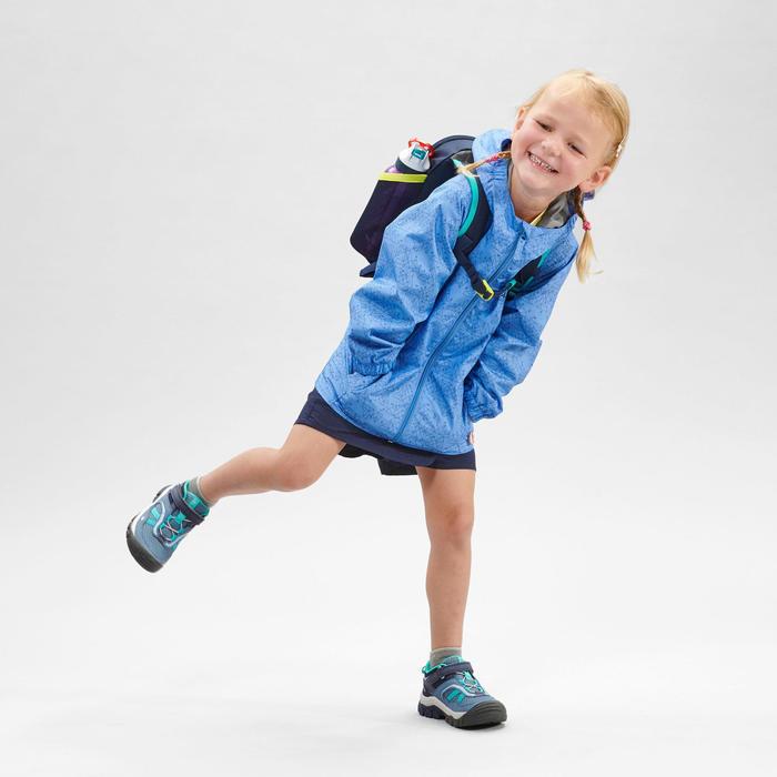 Veste imperméable de randonnée - MH500 KID violette - enfant 2-6 ANS