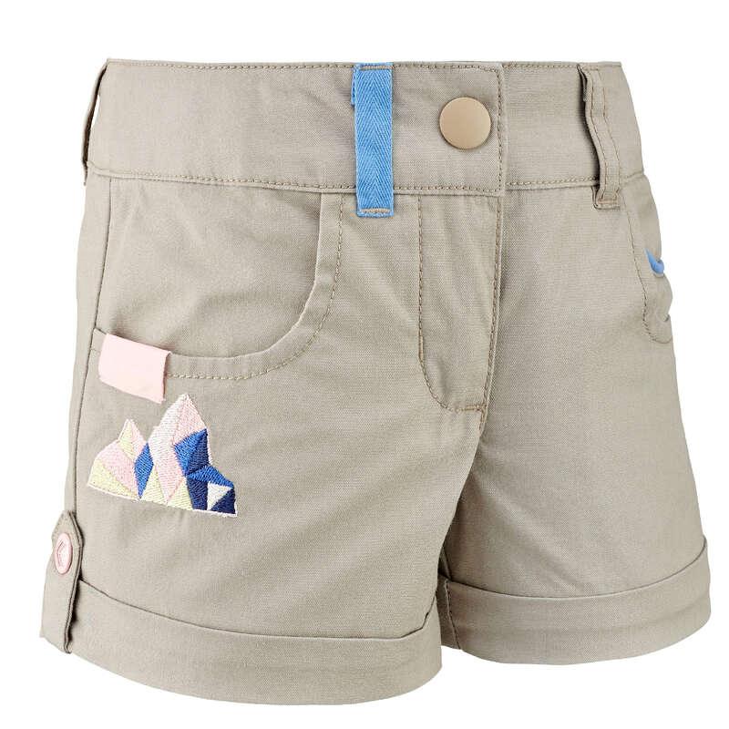 Lány póló, kabát, nadrág, rövidnadrág 2-6 év - Gyerek rövidnadrág MH500 QUECHUA