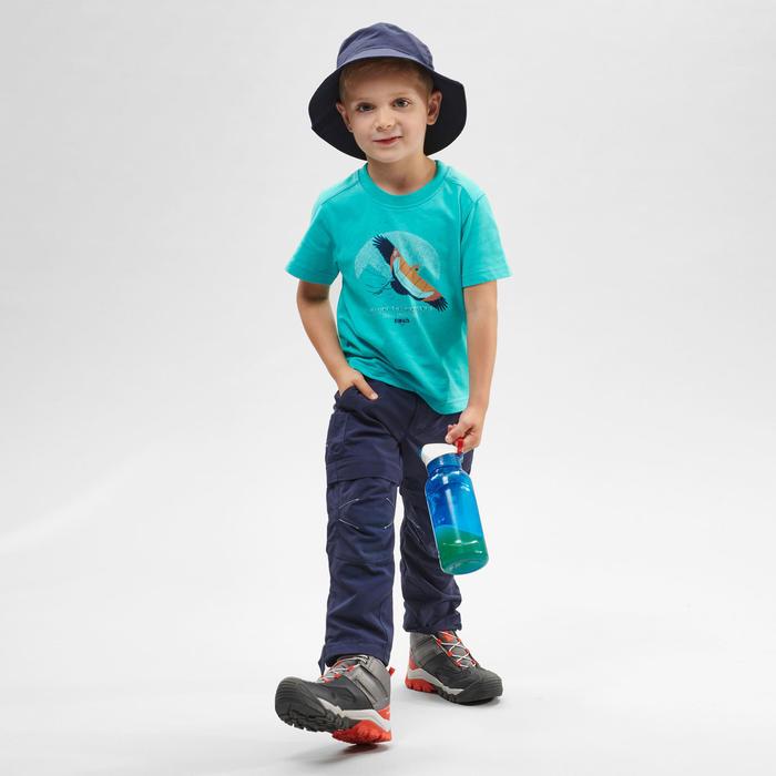 Wandelbroek voor kinderen MH500 blauw afritsbaar 2-6 jaar
