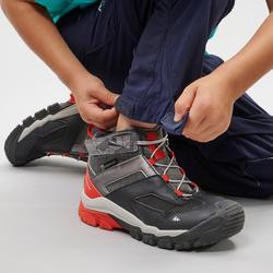Children's Modular hiking trousers - MH500 KID blue - 2-6 years