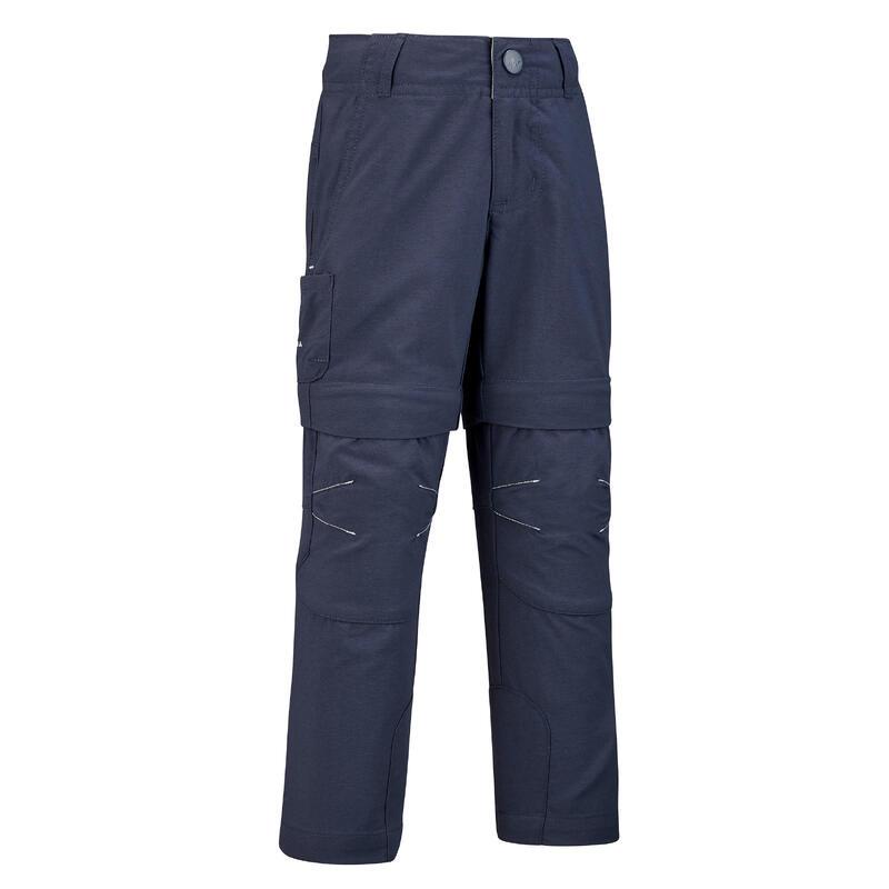 Pantaloni modulabili montagna bambino 2-6 anni MH550 azzurro