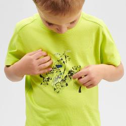 Wandelshirt voor kinderen MH100 groen 2 tot 6 jaar