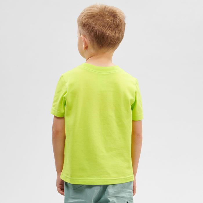 Wandel T-shirt voor kinderen MH100 groen 2-6 jaar