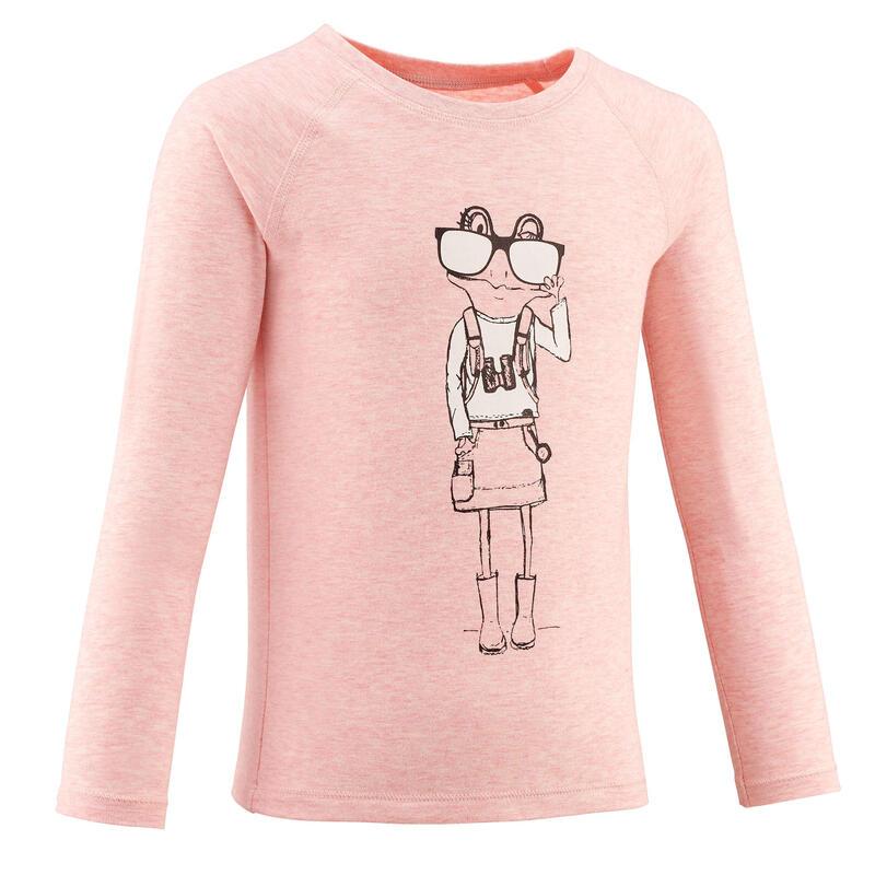 T-shirt ANTI-UV manches longues enfant - MH150 KID - 2-6 ANS