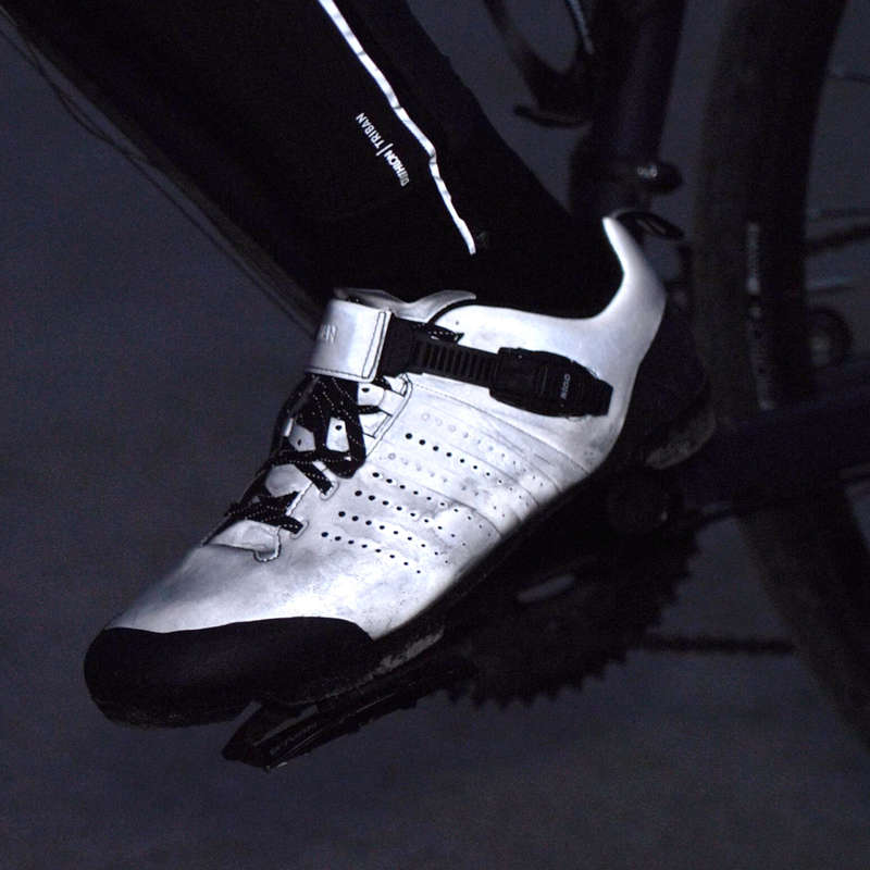 ROAD CYCLING SHOES Cycling - Reflective RC 520 TRIBAN - Bike Accessories