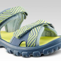 兒童款健行涼鞋 MH100-藍色