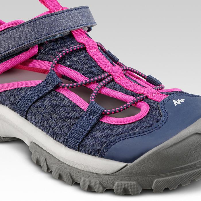 Wandelsandalen voor kinderen MH150 TW blauw/roze 28-39