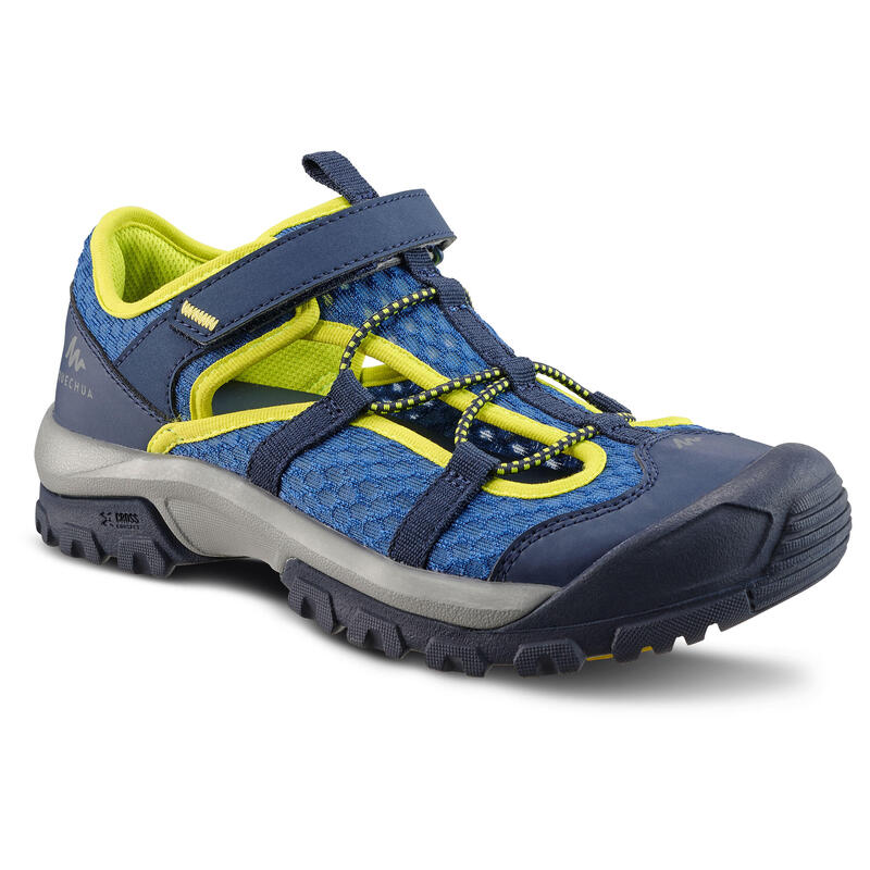 Kids' Hiking Sandals MH150 TW - Jr size 10 TO Adult size 6 - Blue