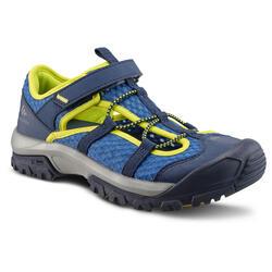Sandálias de caminhada MH150 TW azul - criança - 28 AO 39