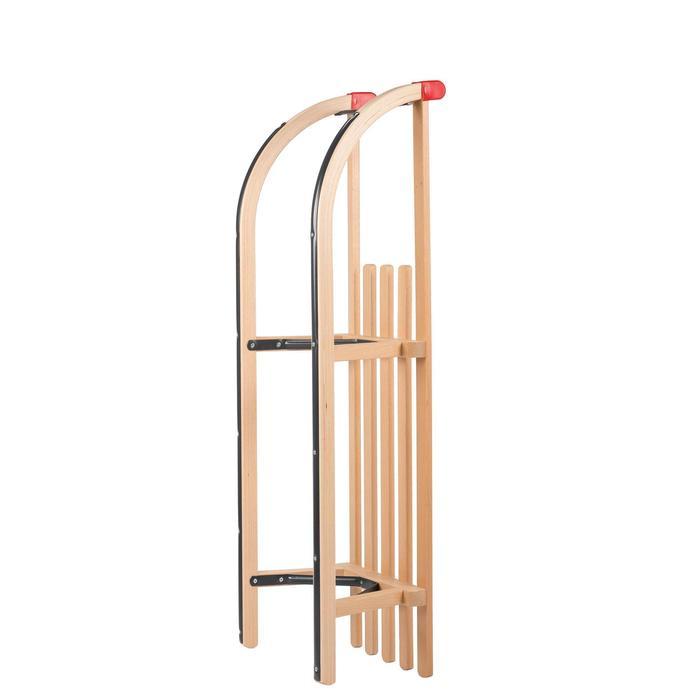 Luge Davos bois Traditionnelle 100 cm