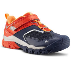 VELCRO MOUNTAIN HIKING SHOES - CROSSROCK - RED - KIDS - SIZE 24 TO 34