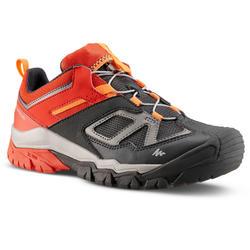 索帶登山遠足鞋 - CROSSROCK - 紅色 - 童裝 - 35-38碼