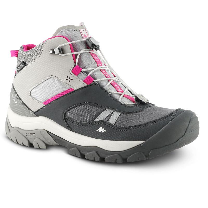 Çocuk Su Geçirmez Ayakkabı - Gri - CROSSROCK