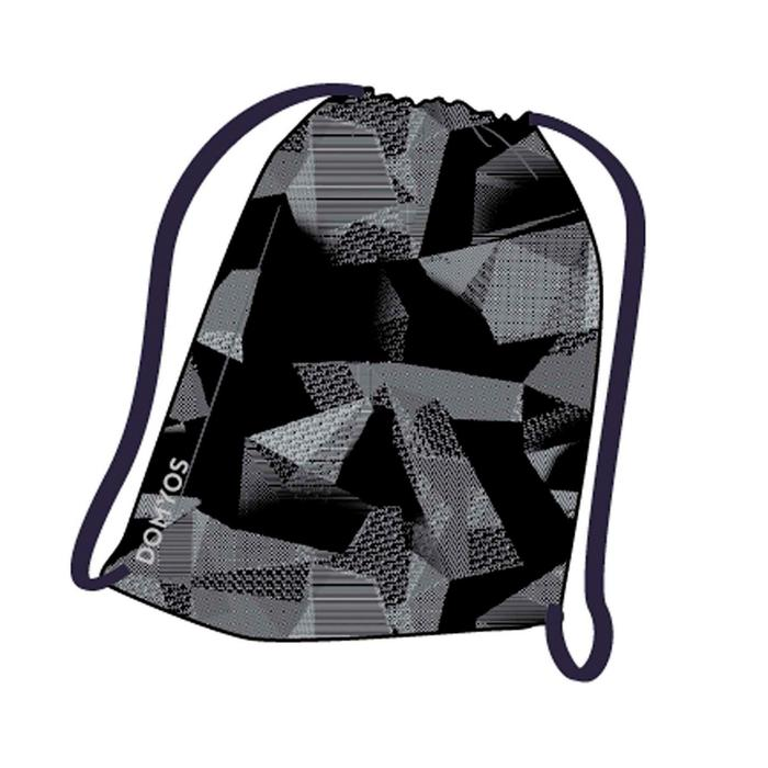 Fold-down Fitness Shoe Bag - Black Print