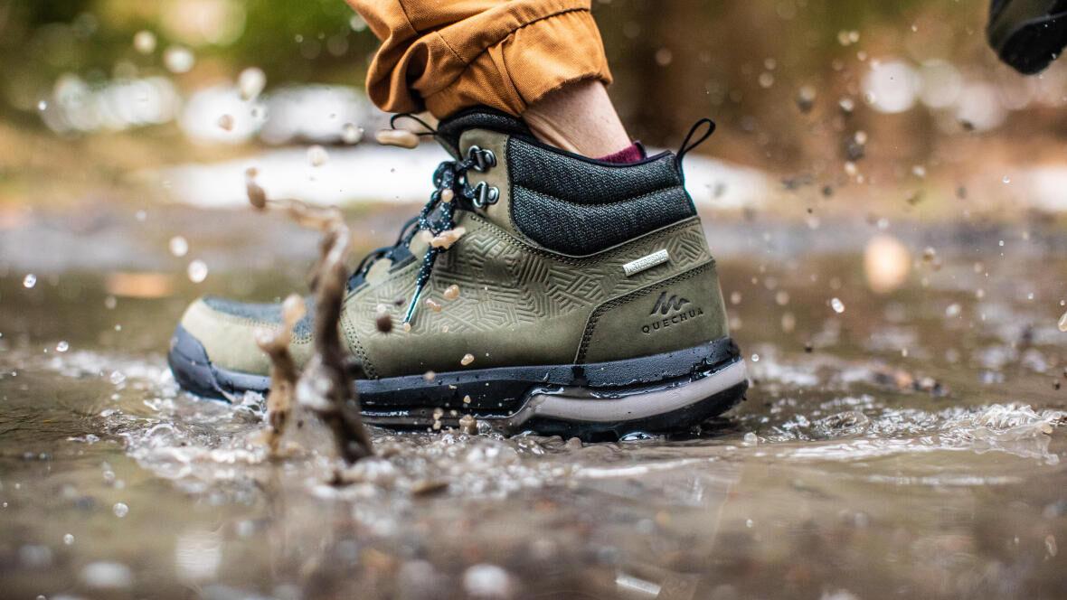 how-to-choose-hiking-trekking-footwear-weather-waterproofness-water-repellency