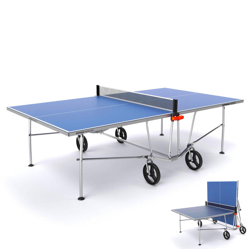STOLY NA STOLNÍ TENIS DO KAŽDÉHO POČASÍ RAKETOVÉ SPORTY - STŮL PPT500 OUTDOOR PONGORI - Stolní tenis, ping pong