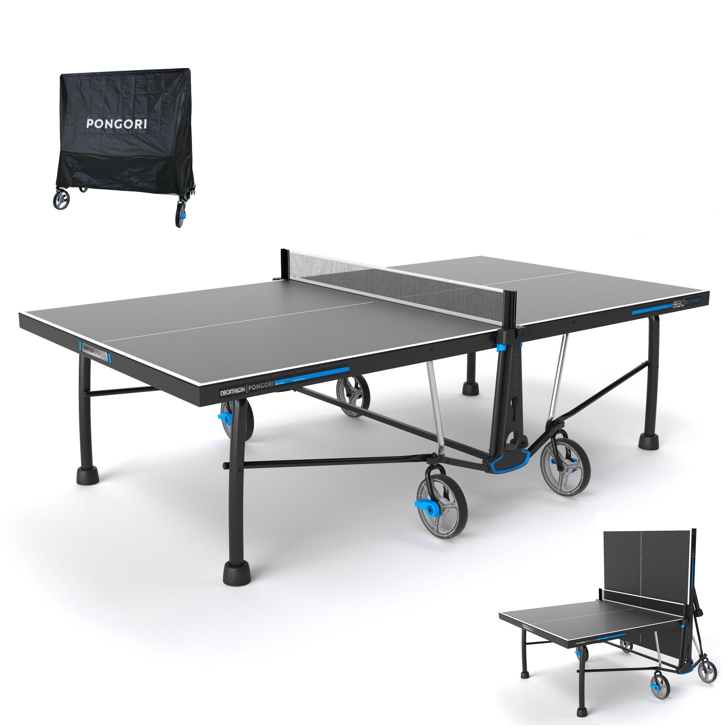 Photo de table-de-tennis-de-table-free-ppt-930-outdoor-avec-housse-pongori