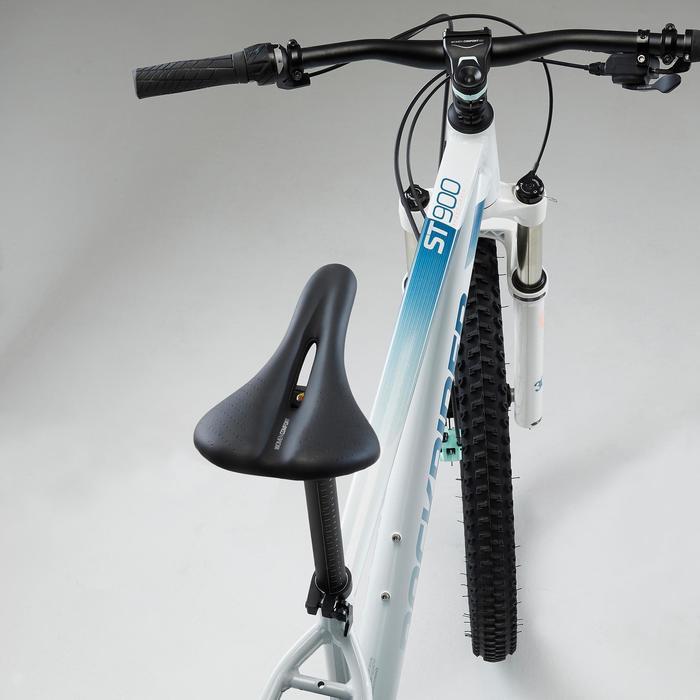 "Vélo VTT ST 900 Femme Blanc 27,5"""