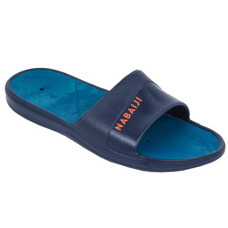 Kids' Pool Sandals Slap 500 - Tex Navy Blue