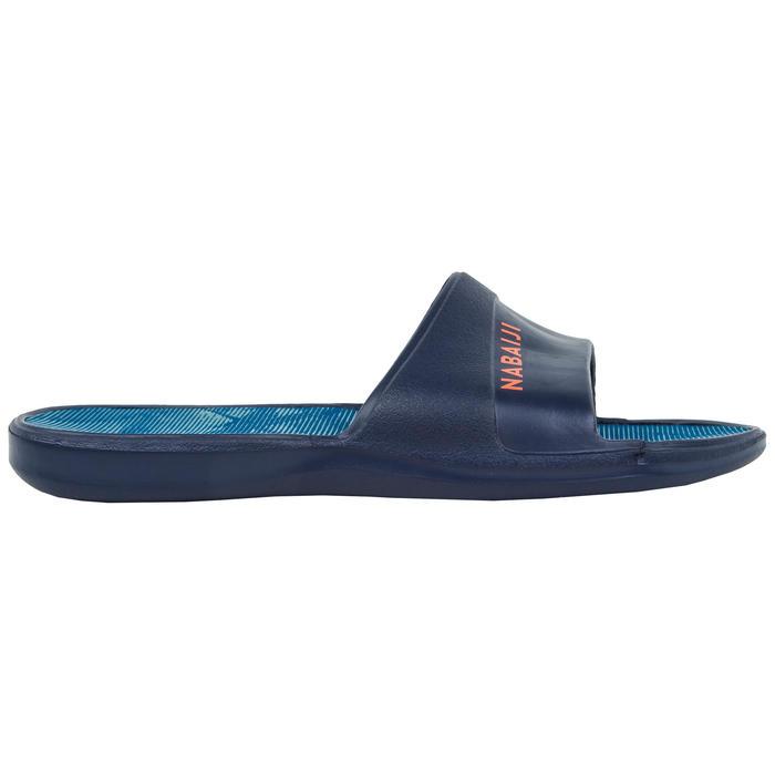 Badslippers kind Slap 500 Tex marineblauw