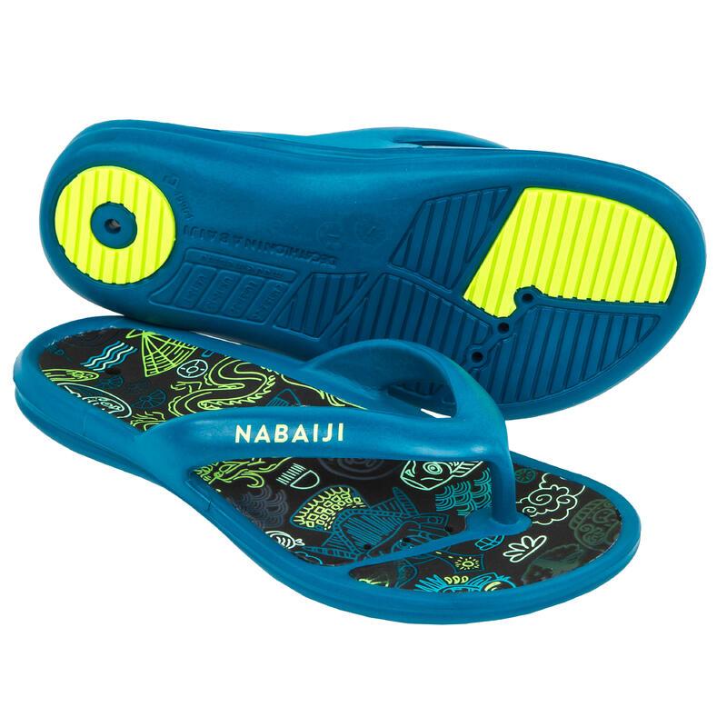 Papuci înot TO 500 Albastru Băieți