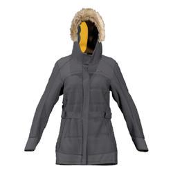 Lichte en warme regenparka voor wandelaars voor dames SH500 X-Warm