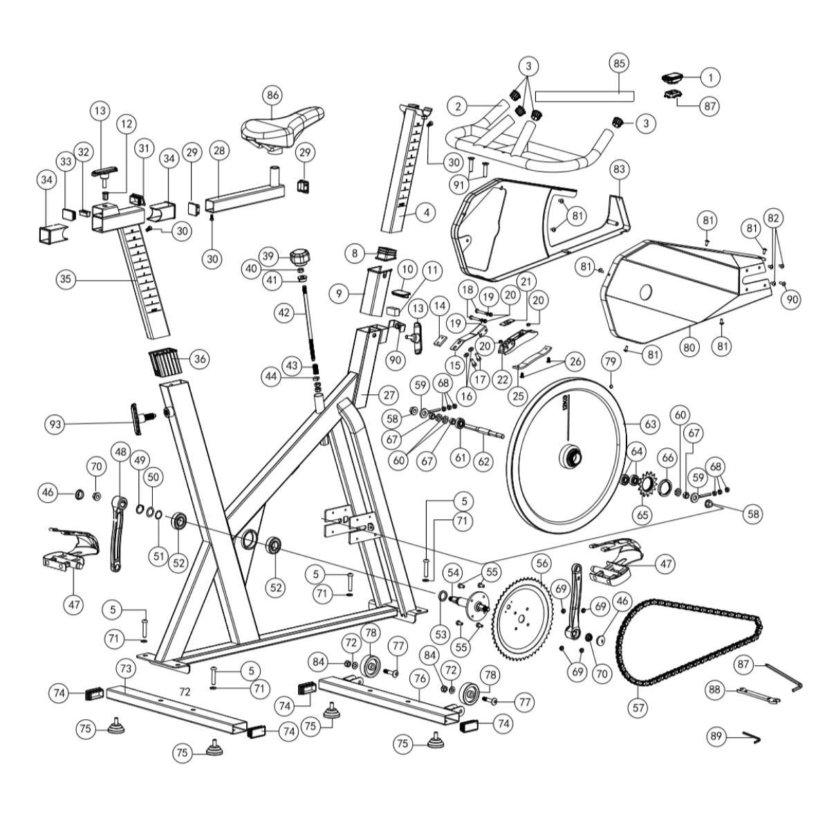 Piano rotto Biking100